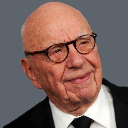 Rupert Murdoch s rodinou